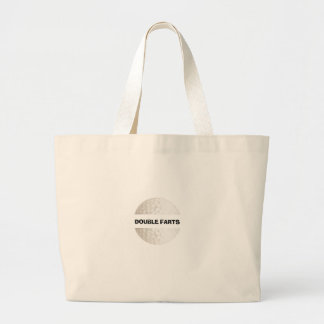 Double Farts Golf Tote Bags