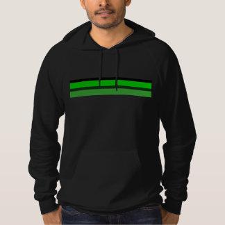Double Green Stripe Hoodie