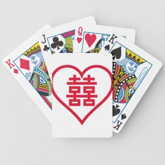 Double Happiness - 囍 - 双喜 - 雙喜 Bicycle Playing Cards