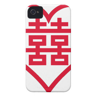 Double Happiness - 囍 - 双喜 - 雙喜 iPhone 4 Case-Mate Cases