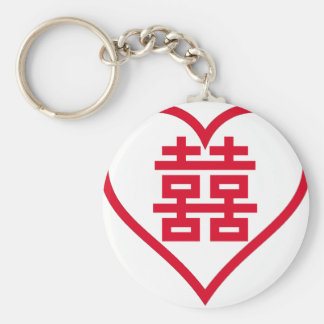Double Happiness - 囍 - 双喜 - 雙喜 Keychain