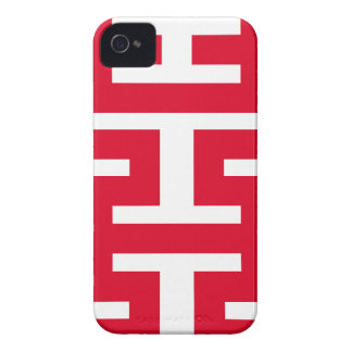 Double Happiness iPhone 4 Case-Mate Case