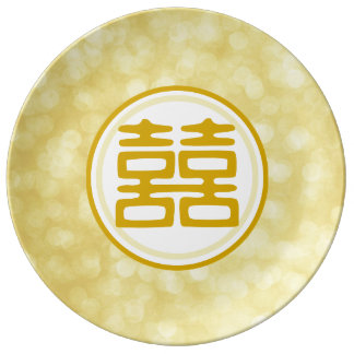 Double Happiness • Round Plate