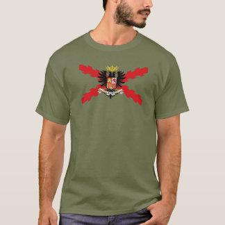 DOUBLE-HEADED EAGLE THIRD, THIRD, SPANISH, CROSS T-Shirt