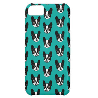 Double Hooded Pied French Bulldog Puppy iPhone 5C Case