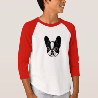 Double Hooded Pied French Bulldog Puppy T-Shirt