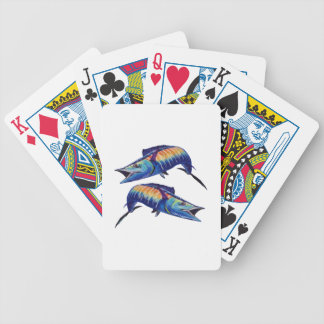 DOUBLE HOOK UP BICYCLE PLAYING CARDS