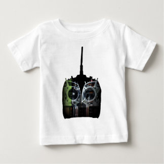 Double Image Black/Green Spektrum RC Radio Baby T-Shirt