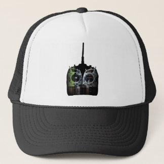 Double Image Black/Green Spektrum RC Radio Trucker Hat