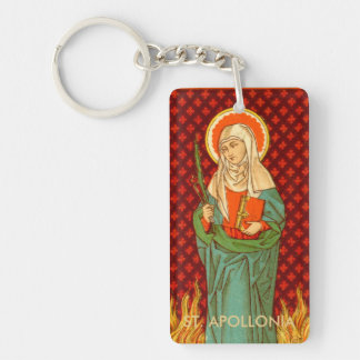 Double Image St. Apollonia (VVP 001) Rect Acryl Keychain