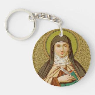 Double Image St. Teresa of Avila (SNV 27) Keychain