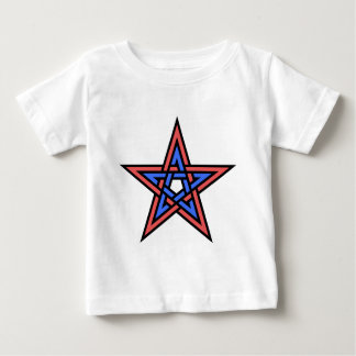 Double-interlaced-pentagram Baby T-Shirt