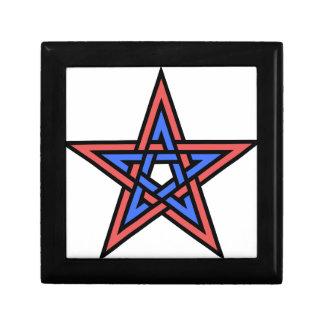 Double-interlaced-pentagram Gift Box