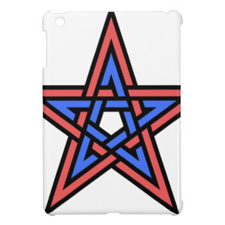 Double-interlaced-pentagram iPad Mini Cases