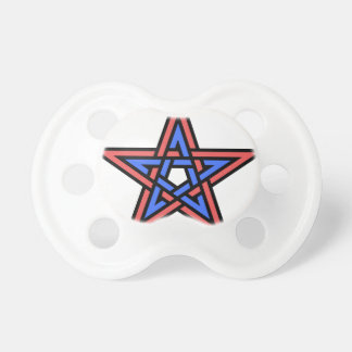 Double-interlaced-pentagram Pacifier