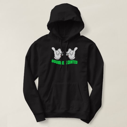 Double Jointed Black Hoodie