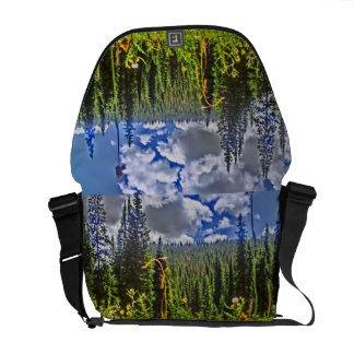Double meadow messenger bag