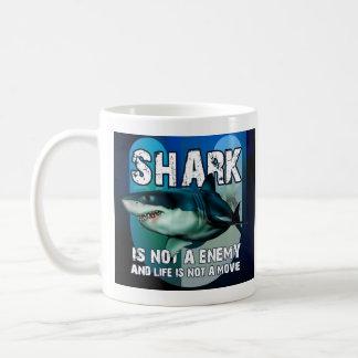 Double mug Shark face