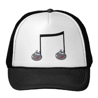Double Music Notes Hats