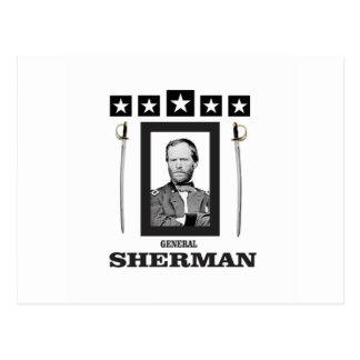 double onde entretenue de Sherman de lame Carte Postale