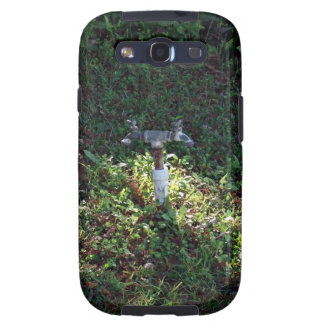 Double outlet water spigot galaxy s3 covers