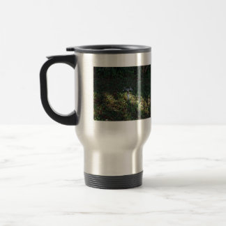 Double outlet water spigot coffee mug