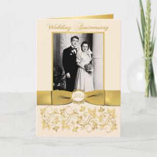 50th Wedding Anniversary Invitations Zazzle Ca