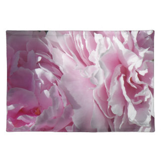 Double Pink Peonies Placemat