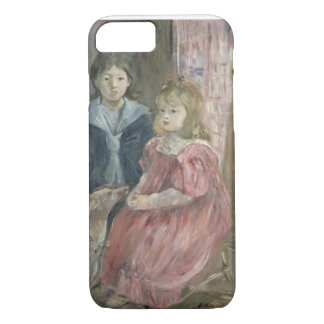 Double portrait of Charley and Jeannie Thomas, chi iPhone 7 Case