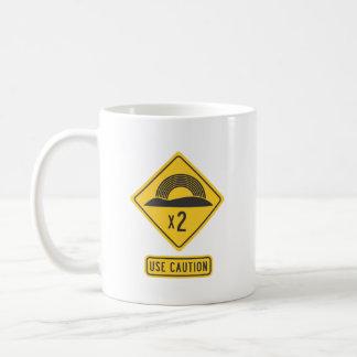 Double Rainbow Coffee Mug