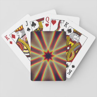 Double Rainbow Mandala Playing Cards