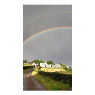 Double Rainbow Photo Print