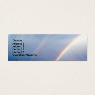 Double Rainbow Profile Card