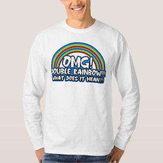 Double Rainbow Tee Shirts