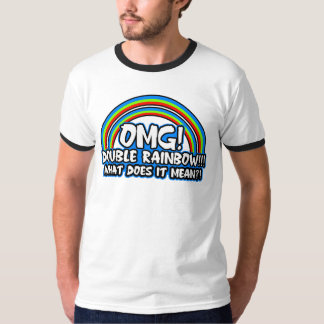 Double Rainbow Tshirt