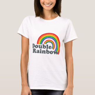 Double Rainbow (Worn Look) T-Shirt