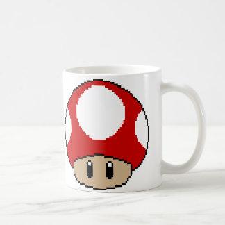 Double Red Shroom Mug