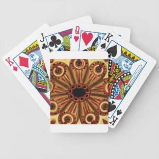 double rings of circles bicycle playing cards
