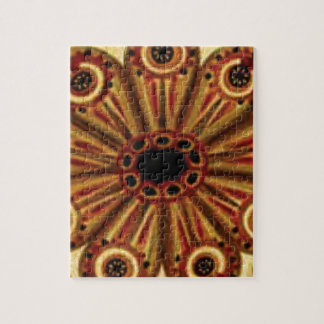 double rings of circles jigsaw puzzle