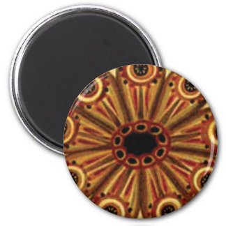 double rings of circles magnet