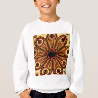 double rings of circles sweatshirt