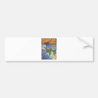 Double Rocket Bumper Sticker