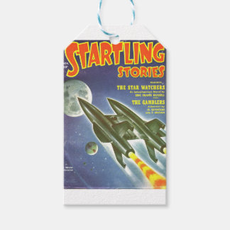 Double Rocket Gift Tags