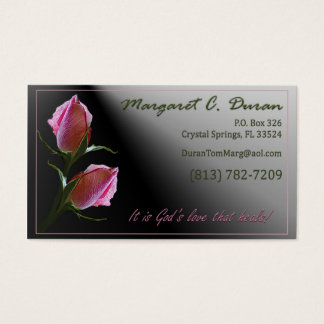 Double Rose - Duran Business Card
