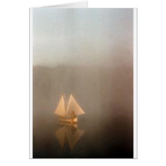 Double Sail Canoe Card