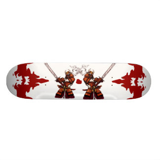 Double Samurai Skateboard Deck