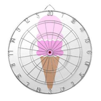 Double Scoop Ice Cream Cone - Pinks Dartboard