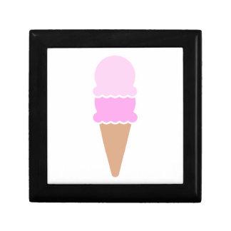 Double Scoop Ice Cream Cone - Pinks Gift Box