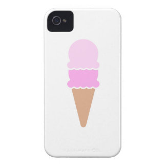 Double Scoop Ice Cream Cone - Pinks iPhone 4 Case