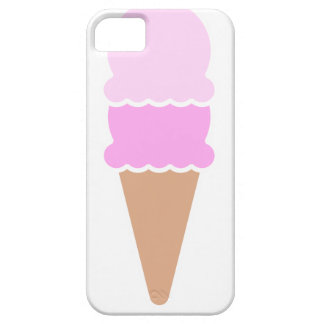 Double Scoop Ice Cream Cone - Pinks iPhone 5 Cases